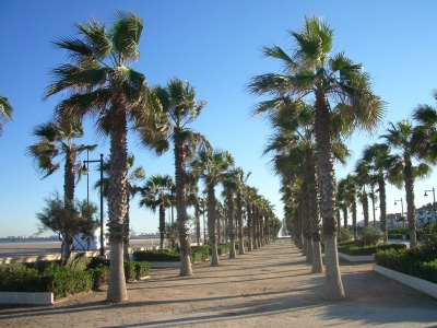 La spiaggia de las arenas valencia for Spiaggia malvarrosa valencia